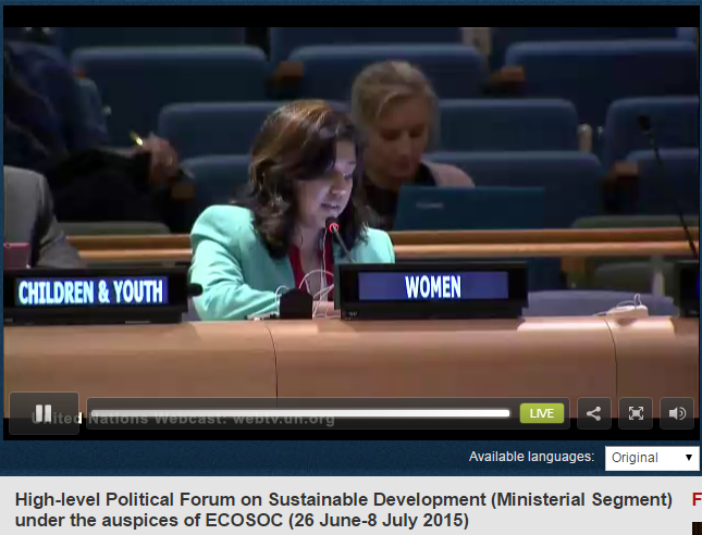 intervention_women_HLPF_6th_july