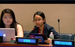 Ana_celestial_7thSession_HLPF_Science-policy interface_12July_2016
