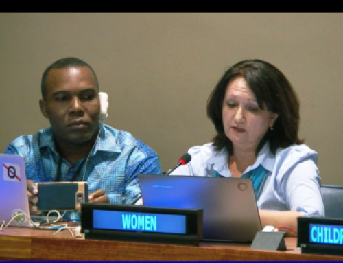HLPF 2017: Alla Kuvatowa's QA Response on Advancing science, technology and innovation for SDGs