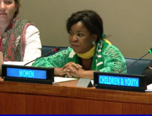 "HLPF 2017: Louisa Eikhomun's intervention on the VNR Session 9 ""Nigeria, Panama and Sweden"""