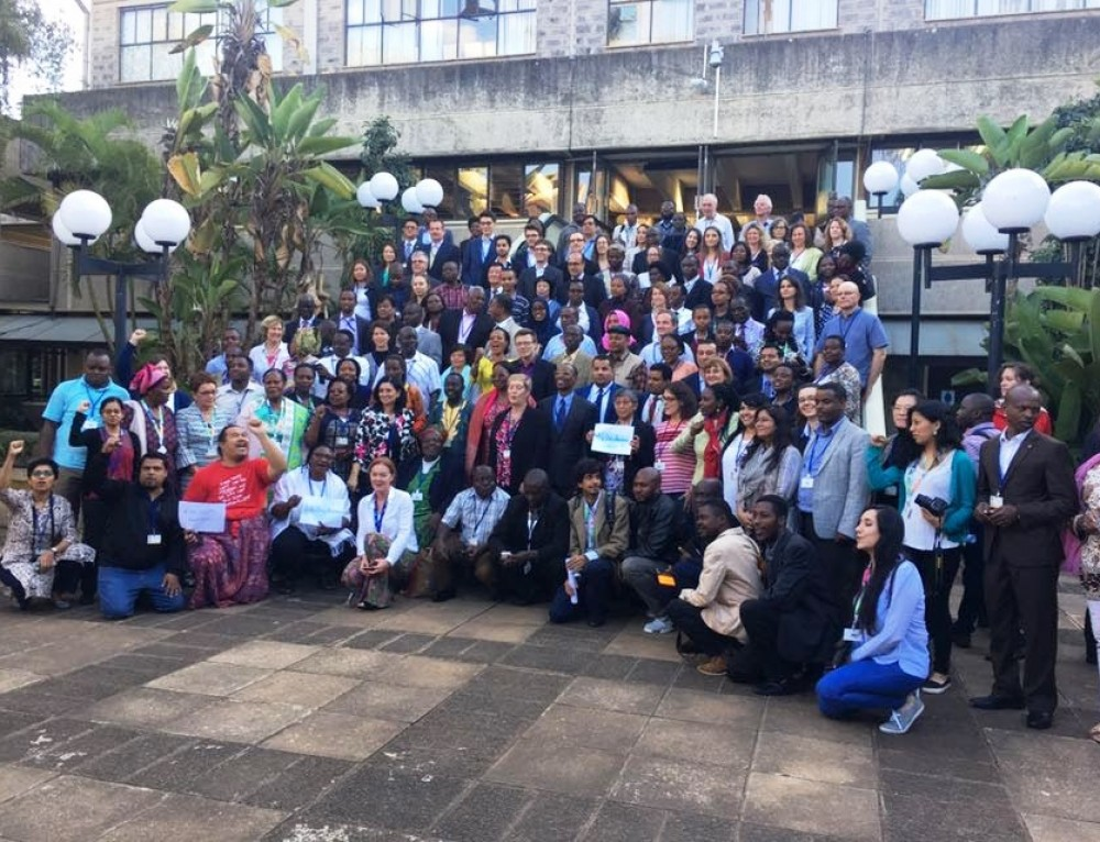 UNEA 3: Global Major Groups and Stakeholder Forum Interventions