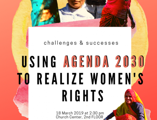 CSW 63: Women's Major Group Side Event on Callenges and Successes