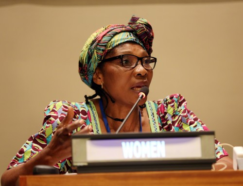 UNFF14: Cécile Ndjebet's Presentation at the Actions by Major Group Partners in Support of the UNSPF 2030