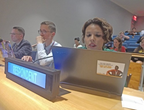 HLPF 2019: Sarah Zaman's Intervention on What are regions telling us about the implementation of the 2030 Agenda and the SDGs?