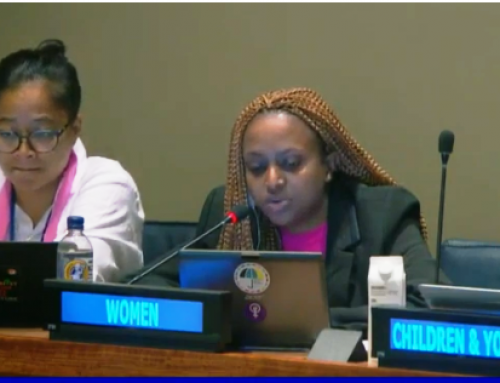 HLPF 2019: Chantal Umuhoza's Intervention on Empowering People and Ensuring Inclusiveness and Equality – Perspectives of Society