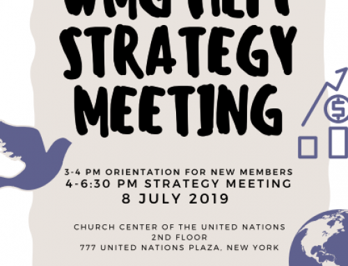 HLPF 2019: Women's Major Group Strategy Meeting