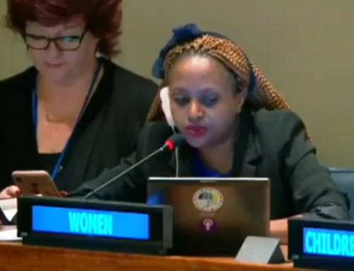 HLPF 2019: Chantal Umuhoza's Intervention on Rwanda VNR