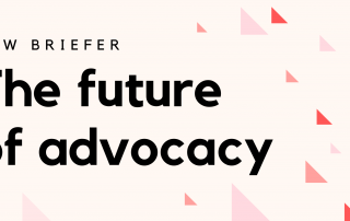 Future of Advocacy Briefer