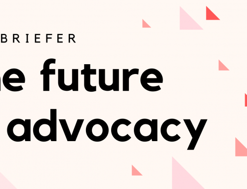 The Future of Advocacy – New briefer from WMG
